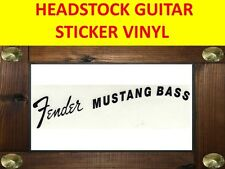 FENDE MUSTANG BASS  BLACK STICKER GUITARRA VISIT OUR STORE WITH MANY MORE MODELS