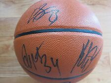 GOLDEN STATE WARRIORS SIGNED TEAM BALL COA + PROOF! KLAY THOMPSON DRAYMOND GREEN