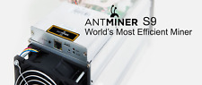 NEW Bitmain Antminer S9 13.5 TH/s Bitcoin Miner with PSU APW3++ ready to mine