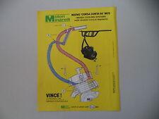 advertising Pubblicità 1980 MOTORE MINARELLI CORSA CORTA 50 MCS