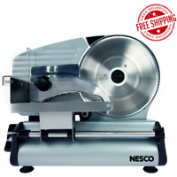 SLICER MEAT ELECTRIC FOOD Machine Cheese Deli Bread Cutter Blade Stainless Steel