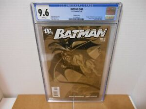 Batman 655 Kubert Variant CGC 9.6 NM+,1st DAMIEN WAYNE -ROBIN DC 2006