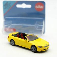 Siku 1007 BMW 645i Cabrio Convertible Cabriolet Toy Car Diecast Vehicles Models