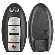 Replacement Case for Infiniti G25 G35 G37 Q60 Q70 Smart Prox Remote Key Keyless (Fits: Infiniti)