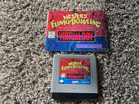 NESTER'S FUNKY BOWLING Nintendo Virtual Boy Authentic Game & Manual Only WORKS