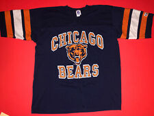 VINTAGE Logo 7 Chicago Bears T-Shirt Jersey Size XL 80s 90s NFL Football