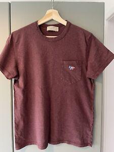 Maison Kitsune Men's t shirt, Size Small S, In great condition, fox logo