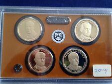 2014-S Presidential Gem Proof Dollar 4 Coin Set E5740