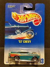 1991 Hot Wheels #213 : '57 Chevy 5 Spoke - 4312