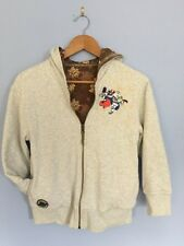 Disney Store Toy Story Buzz Space Ranger Hoodie Jacket Gray Reversible Boys Med