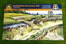 Campo de batalla históricos Accesorios Italeri 1/72 escala 6030