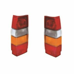 Volvo 760 Estate 1982-1991 Rear Lights Lamps Amber Indicator 1 Pair O/S & N/S
