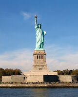 New York STATUE OF LIBERTY Glossy 8x10 Photo Print Wall Art Poster