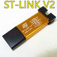 1PCS ST-LINK V2 Programming Unit STM8 STM32 Emulator Downloader M89 Top D