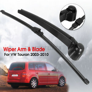 """16"""" Rear Windscreen Window Wiper Arm & Blade Kit For VW Touran 2003-2010"""