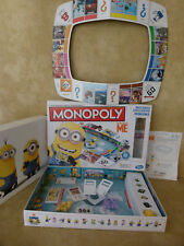 MONOPOLY Board Game DESPICABLE ME Minions With Figures Complete see listing