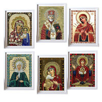 DIY 5D Cross Stitch Religious People Diamond Embroidery Painting Home Decor