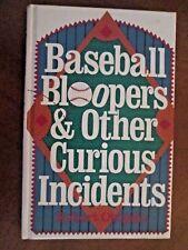 BASEBALL BLOOPERS by Robert Obojski FIRST ED ^^