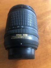 Nikon AF-S NIKKOR 18-135mm f/3.5-5.6G DX ED Lens w/ Caps