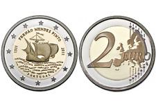 2,00 € Euro - 2011 - Portugal - Fernão Mendes Pinto - Proof