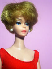 Vintage Beautiful Bubblecut Barbie Model #850 Blonde OSS Red Mules ExcCondition
