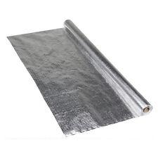 2x Alu Dampfsperrbahn 1,5m x 50m Aluminium Dampfsperrfolie Dachfolie Dampfsperre