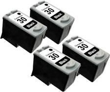 4PK FOR INK CARTRIDGE CANON PG30 PG-30 PG30 1899B002 BLACK PIXMA IP2600 MP470