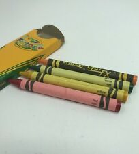 The Crayola Factory Box Of 4 Factory Crayons, 3 Classic, 1 Specialty C277A