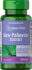 Puritan's Pride Saw Palmetto Extract 90 Softgels  **Mens Prostate Urinary Health