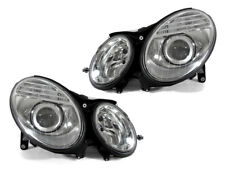 DEPO Chrome AMG Style Projector Headlight Set for 03-06 Mercedes W211 E Class
