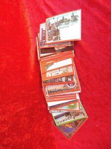 90 Bella, vecchio Cartoline, Germania-Est, DDR: Lipsia, Dresda, Chemnitz