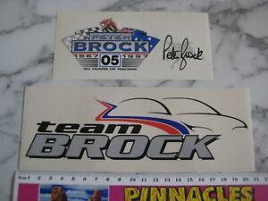 HOLDEN  PETER BROCK  STICKERS X 2