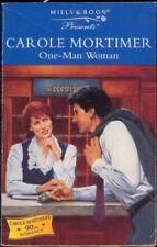 One-man Woman (Presents),Carole Mortimer