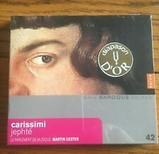 Carissimi - Jephte CD, Naive Records (New & Sealed)