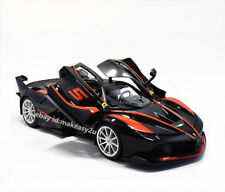 Bburago 1:18 Ferrari FXXK Diecast Model Roadster Car Black