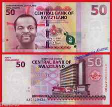 SWAZILAND 50  Emalangeni 2010 Pick 38 SC / UNC