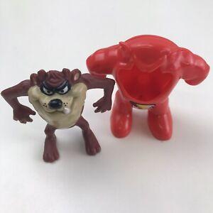 1991 McDonald's Looney Tunes Tasmanian Devil as Taz-Flash Vintage Happy Meal Toy