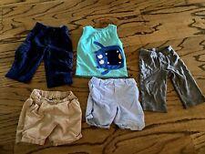Lot Of Boy Clothes 12-18m Pants Shorts Tank Top