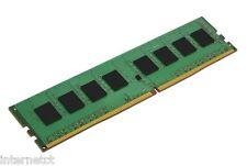Kingston 4GB de alta velocidad DDR4 DIMM RAM 2133MHz (PC4-17000) de 64 bits de memoria de escritorio