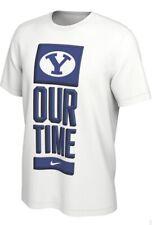 Nike NCAA BYU Cougars Dri-Fit Tournament T-Shirt, Men's XL