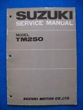 Suzuki TM250 Original Factory Service Shop Repair Manual