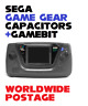 SEGA Game Gear Replacement Capacitors / Complete 20 x Cap Kit + 4.5mm Gamebit