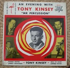 TUBBY HAYES, AN EVENING WITH TONY KINSEY  LP ORIGINAL 1961 EMBER - VERY RARE