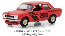Greenlight Datsun 510 1971 Raydaddy Auto 47010 E 1/64
