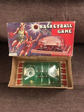 TOY BASKETBALL GAME PLAYWELL MADE HONG KONG VINTAGE TABLETOP MIB RARE