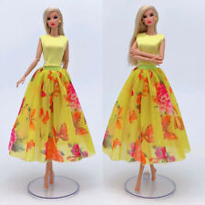 Doll #05 4in1 Set Fashion Doll Clothes Outfit Top+skirt+hat+bag for 11.5 in