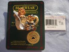 Boyd's Bears Bearwear Pin Prissie and Missie Fixin' Tea (9631)