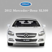 WELLY 1:24 SCALE 2012 MERCEDES-BENZ SL 500 DIECAST CAR MODEL TOYS COLLECTIONS