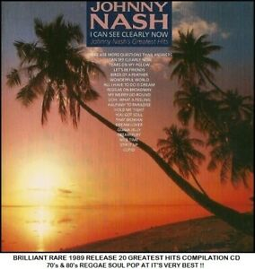 Johnny Nash - Very Best Definitive 20 Essential Hits Collection Reggae Soul CD