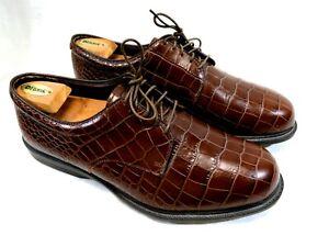 Allen Edmonds JACK NICKLAUS SIGNATURE GOLF Shoes U.S. SIZE 13 Brown Leather